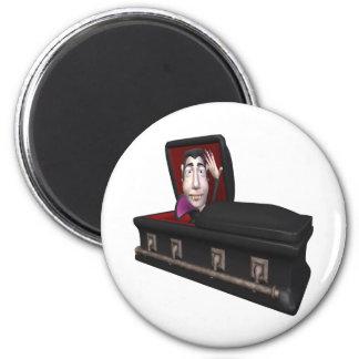 Dracula 6 Cm Round Magnet