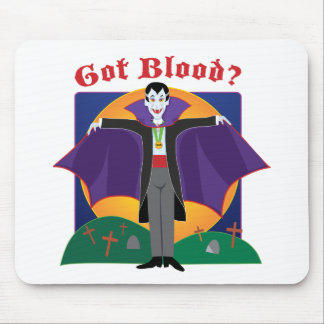 Dracula Mouse Pads