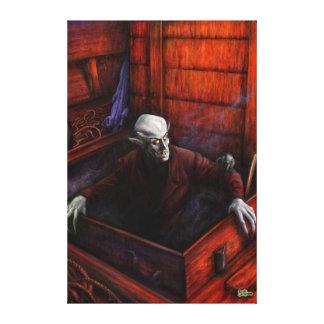 Dracula Nosferatu Vampire Canvas Prints