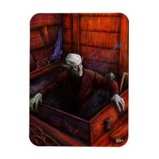 Dracula Nosferatu Vampire Rectangular Photo Magnet