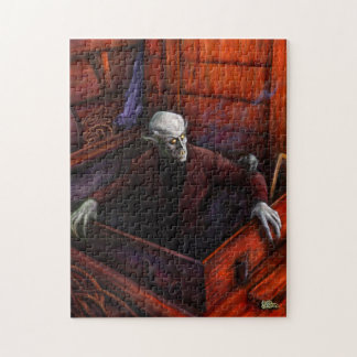 Dracula Nosferatu Vampire Jigsaw Puzzle