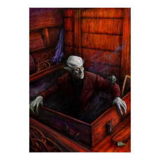 Dracula Nosferatu Vampire Poster