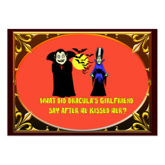 Dracula s Girlfriend Business Card