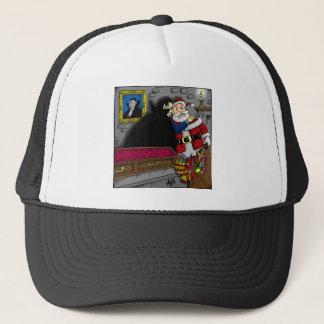Dracula, Santa. Trucker Hat
