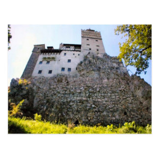 Dracula's Castle, Bran, Looking up Postcard