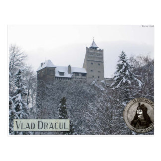 Dracula's castle,Vintage photo Postcard