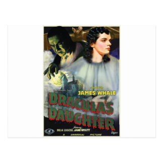 DRACULA'S DAUGHTERS by Philip J. Riley Postcard