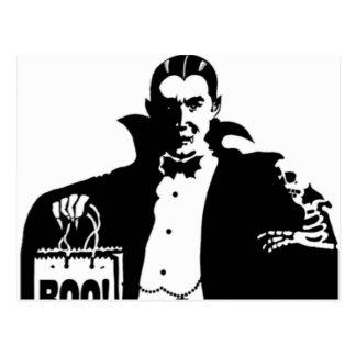 Dracula's Happy Halloween Postcard