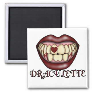Draculette Tshirts and Gifts Magnet