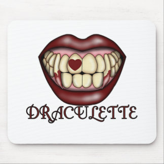 Draculette Tshirts and Gifts Mousepad