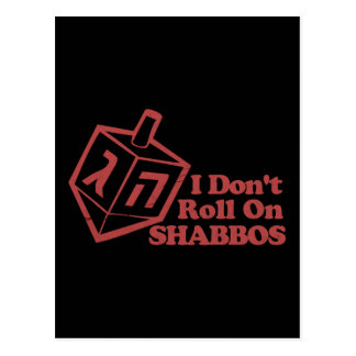 Draddle Roll Shabbos Postcard