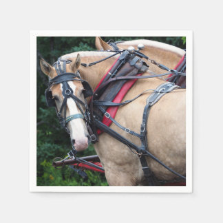 Draft Horse 387 Paper Napkin