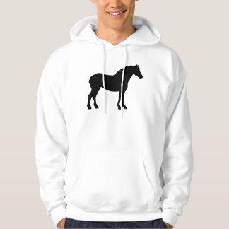 Draft Horse (black) Hoodie