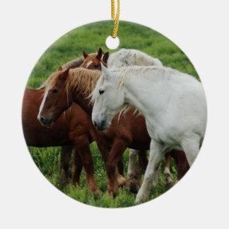Draft Horse Christmas Ornament