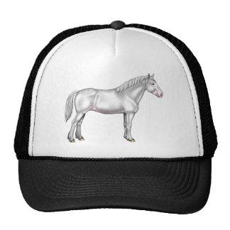 Draft Horse - White Cap