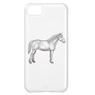 Draft Horse - White Cover For iPhone 5C