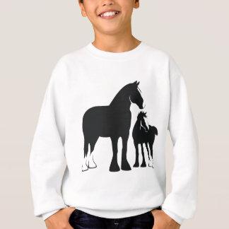 Draft Mare and Foal Sweatshirt