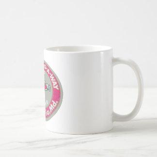 Drag-A-Way Basic White Mug