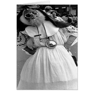 Drag Queen NYC. 1989 Greeting Card