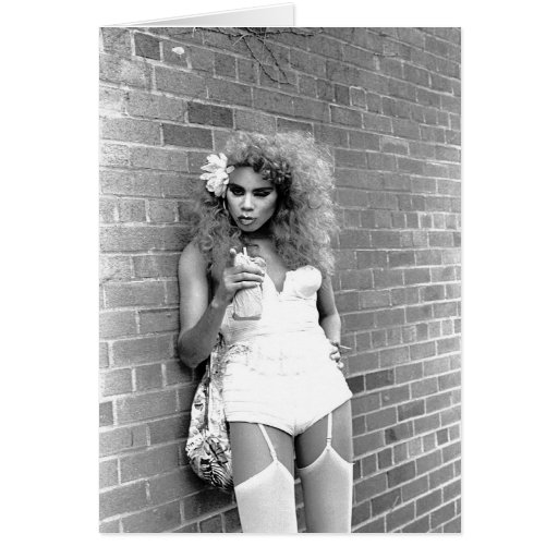 Drag Queen NYC. 1989 Greeting Cards