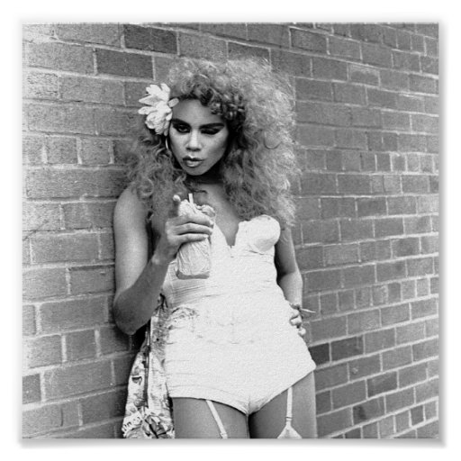 Drag Queen NYC Gay Pride Day 1989 Poster