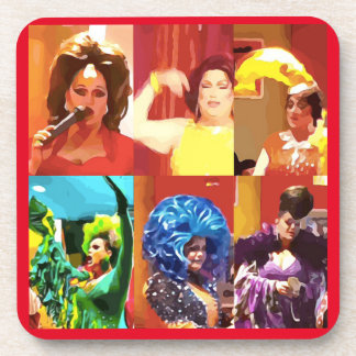 Drag Queens Coaster