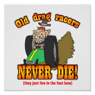 Drag Racers Poster