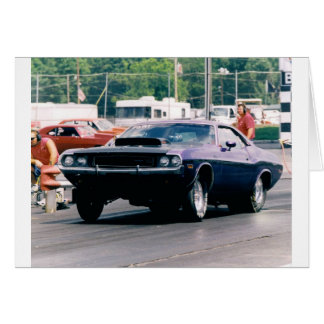 Drag Racing Card