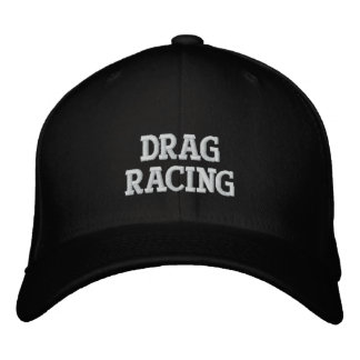 DRAG RACING EMBROIDERED HAT