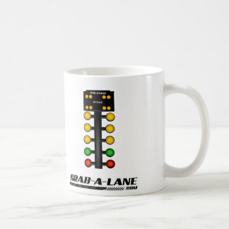 Drag Racing Staging Light Christmas-Tree MUG