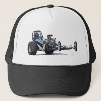 Drag Racing & Vintage Dragsters Trucker Hat