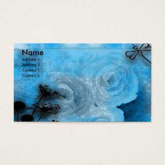 dragfly blues business card