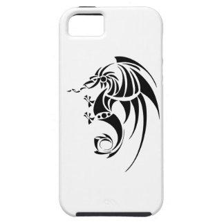 Dragissous V1 - black dragon Case For The iPhone 5