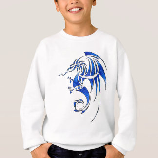 Dragissous V1 - blue dragon Sweatshirt