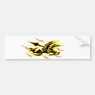 dragon00 car bumper sticker