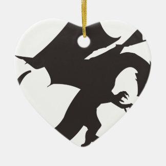dragon-1578289 ceramic heart decoration