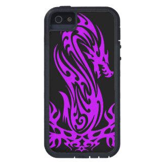 Dragon 19 purple oil iPhone 5 case