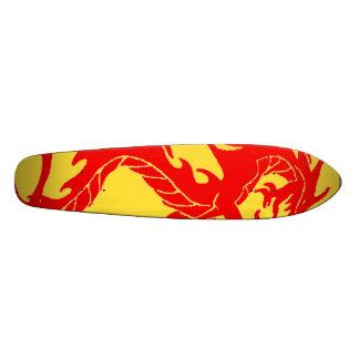 Dragon 21.6 Cm Old School Skateboard Deck