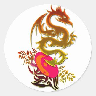 Dragon 30 sticker