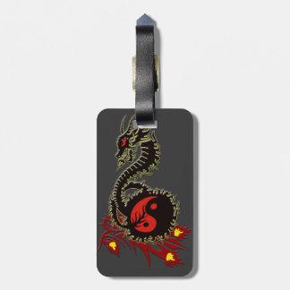Dragon 33 luggage tag