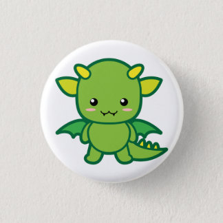 Dragon 3 Cm Round Badge