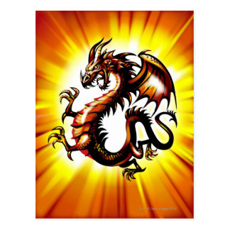 Dragon 3 postcard