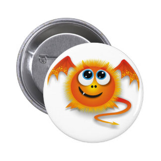 Dragon 6 Cm Round Badge