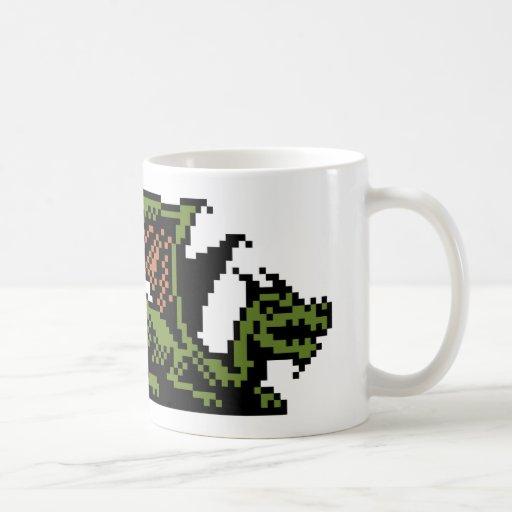Dragon 8-Bit Pixel Art Mug Mug