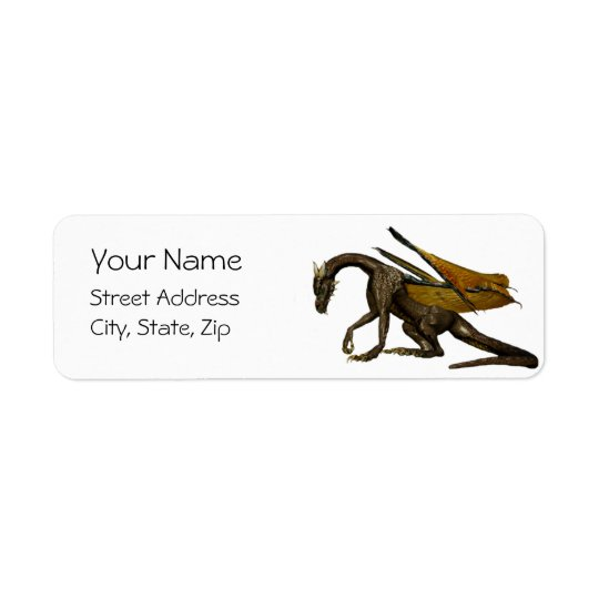 Dragon Address Label