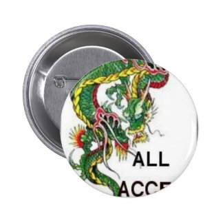 DRAGON ALL ACCESS PASS 6 CM ROUND BADGE
