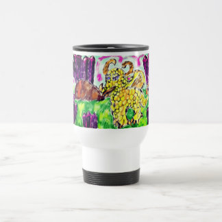 Dragon and Amethyst Travel Mug