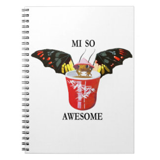 Dragon and Chinese Cup Notebook