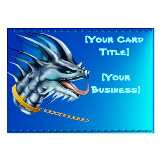 Dragon and Gold Chain Business Card