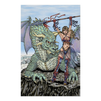 Dragon and Maiden Poster